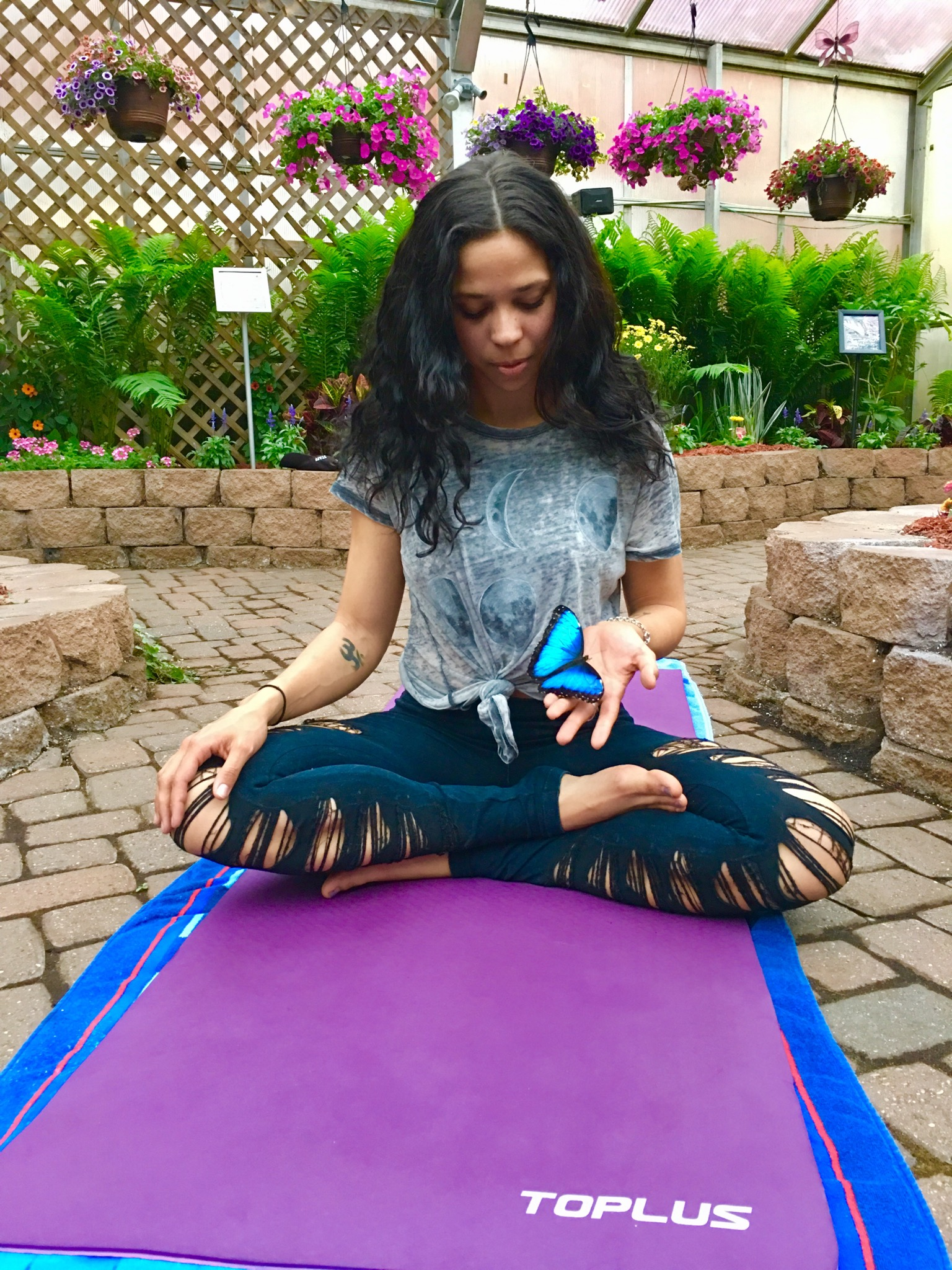 Yoga: Flow with the Butterflies
